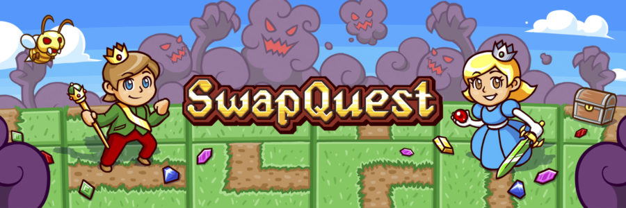 SwapQuest is out on the App Store and Google Play